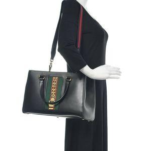 Gucci Large Sylvie Leather Tote Shoulder Bag